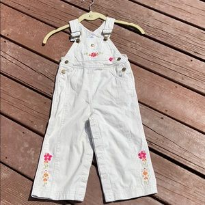Buster Brown Toddler Embroidered Overalls